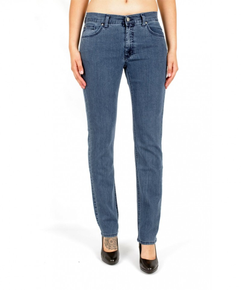 Angels Cici Jeans - Straight Leg - Superstone