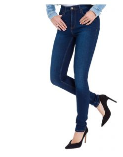 Cross Natalia - dunkelblaue High Waisted Jeans