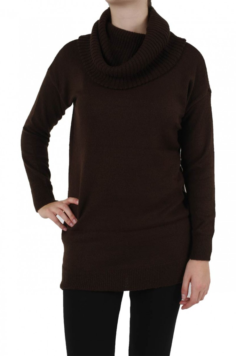 Vero Moda Pullover - Saphire LS Long - Black Coffee