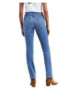 Levi's 724 - Gerade Jeans mit hohem Bund in Stone-Optik f02