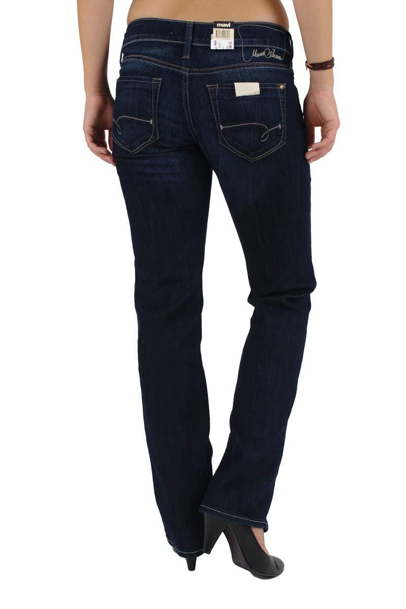 Mavi Olivia Jeans Straight Leg Rinse Brushed Boho