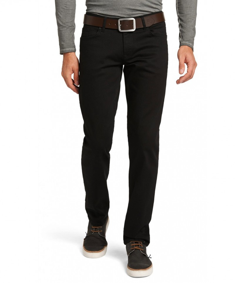 HIS Stanton Jeans - Straight Leg - Deep Black