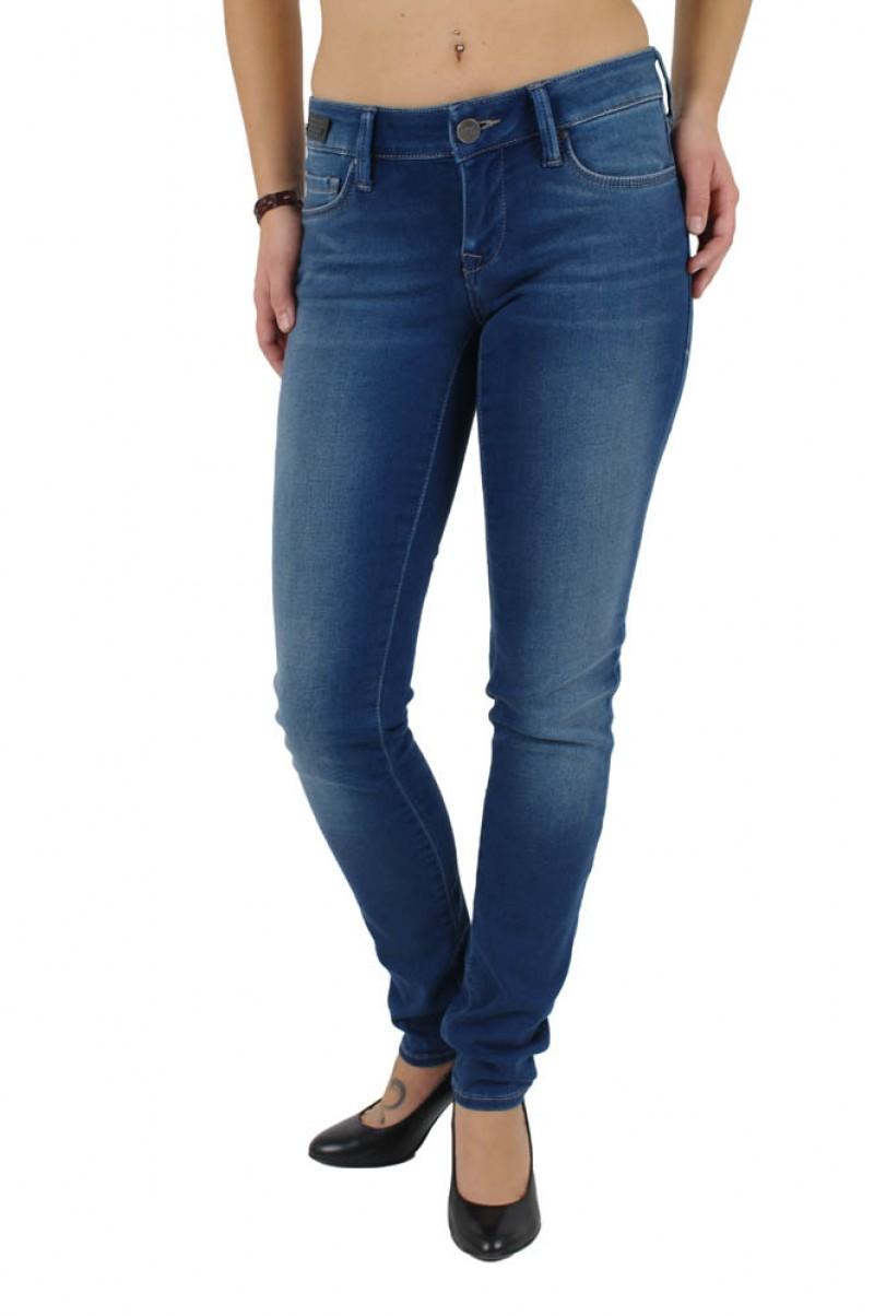 Mavi Lindy Jeans - Skinny - MID Lux Sateen