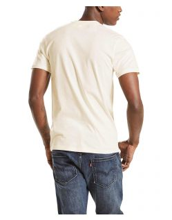 Levi's T-Shirt - Sunset Pocket - Whitesmoke - Hinten