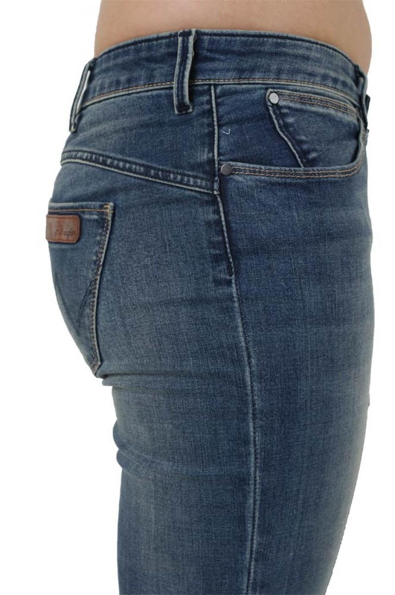 Wrangler Molly Jeans - Denim Sculpt - Pasadena Fade v
