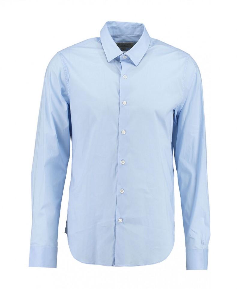 Garcia Dario - Businesshemd für Herrren mit Kentkragen - Hellblau