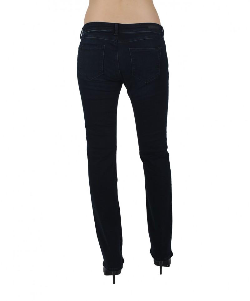 MAVI OLIVIA - Straight Leg Jeans - Dark Ink