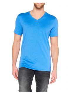 Colorado Joaquim - V-Neck T-Shirt - Strong Blue Mel