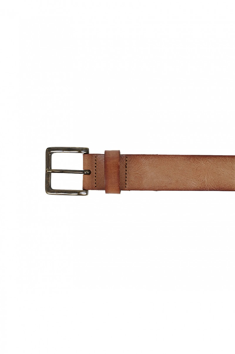 Levi's Gürtel - Full Grain Leather - Braun