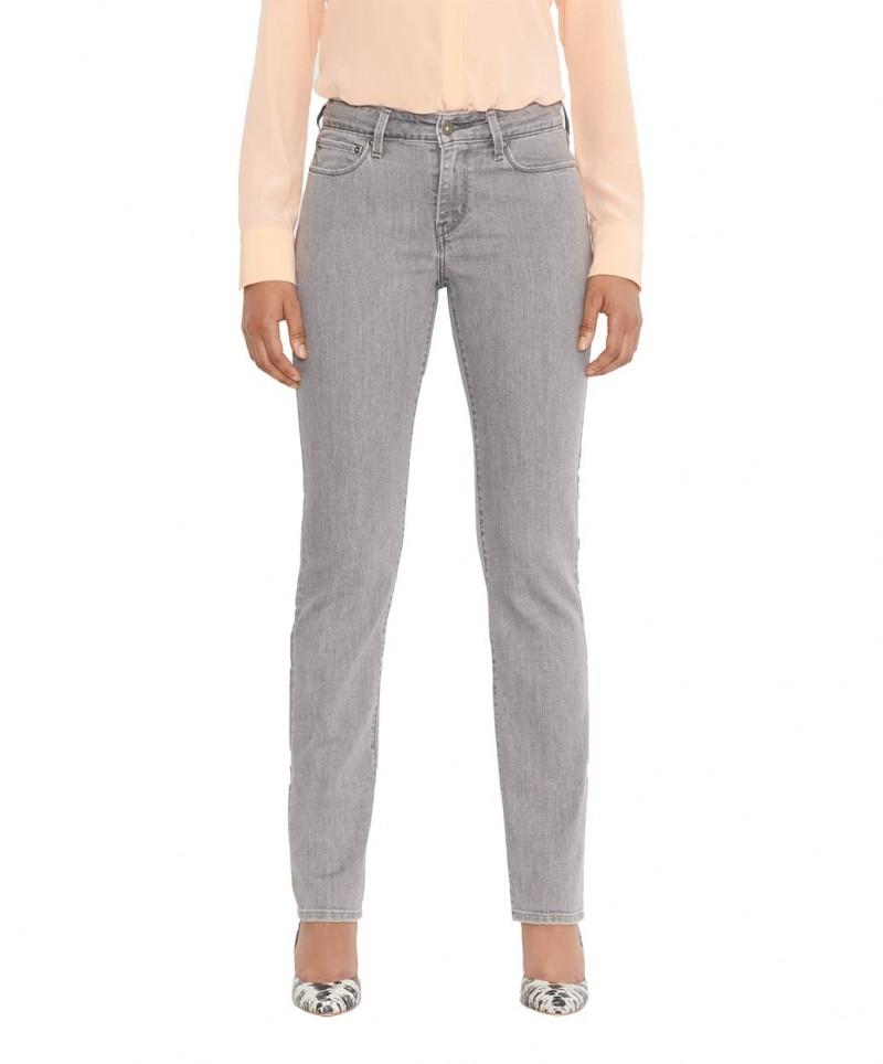 Levis Demi Curve Jeans - Slim Leg - Glacier Grey