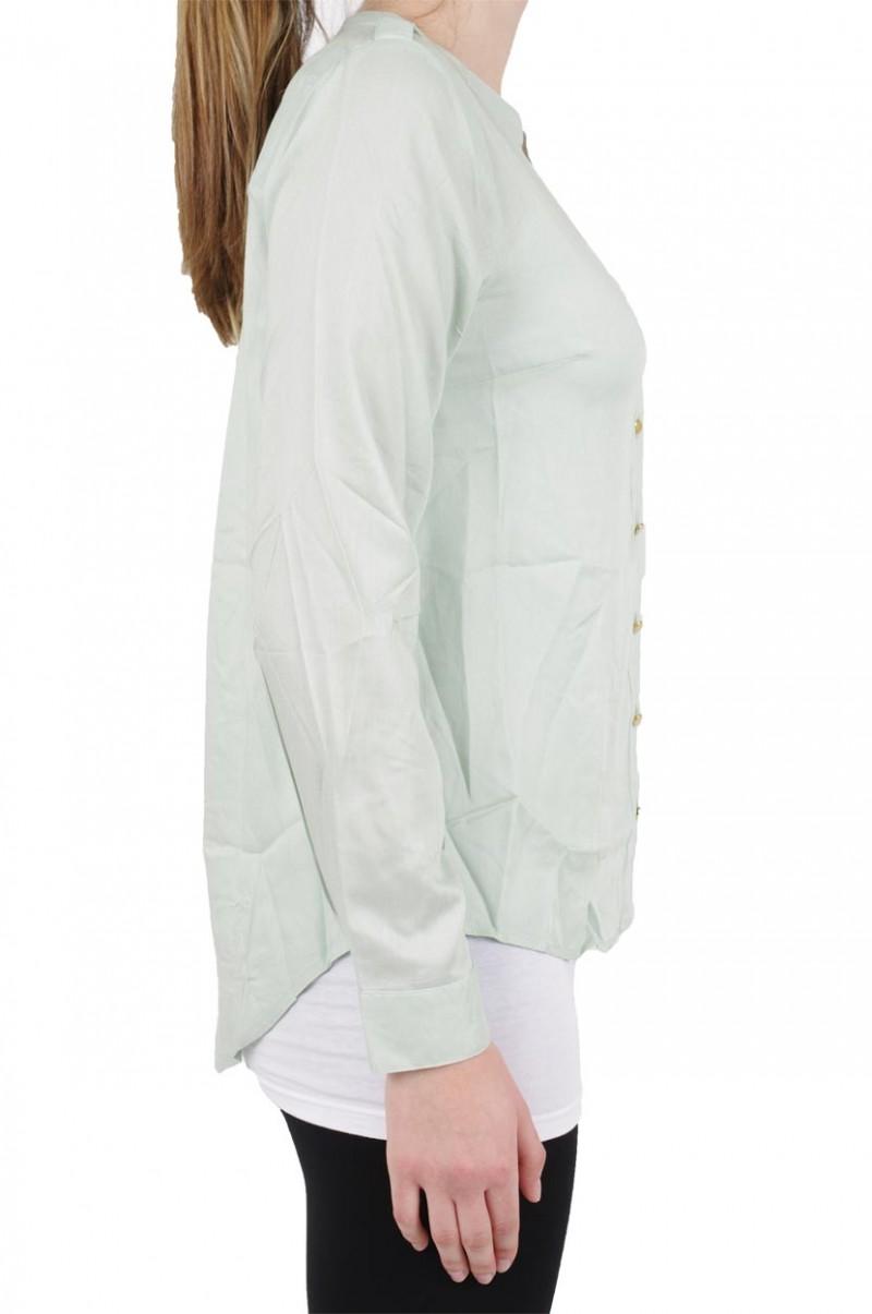 Vero Moda Bluse - Ivar Ls - Aqua Foam