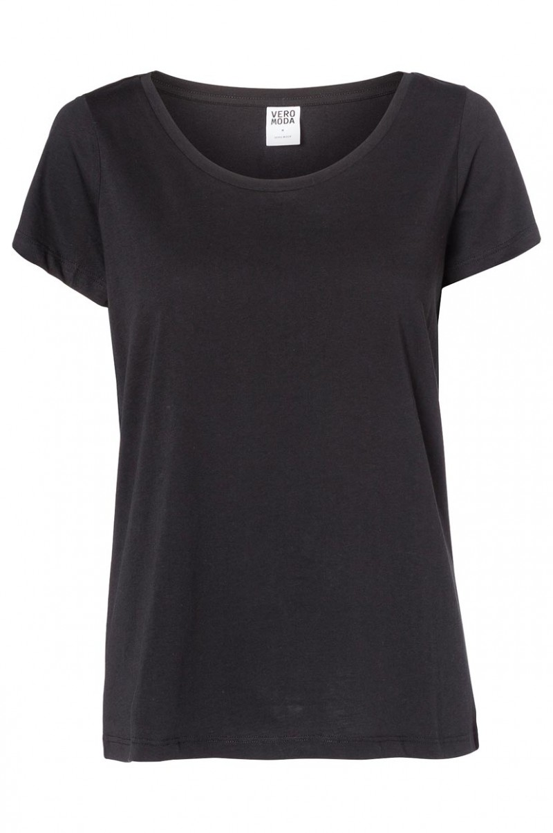 Vero Moda T-Shirt - Molly ss Top - Black
