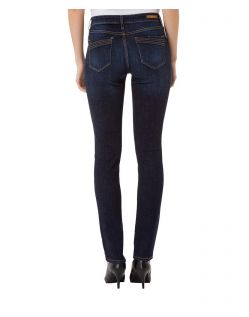 CROSS Anya - High Waisted Jeans - Dark Blue Used - Hinten