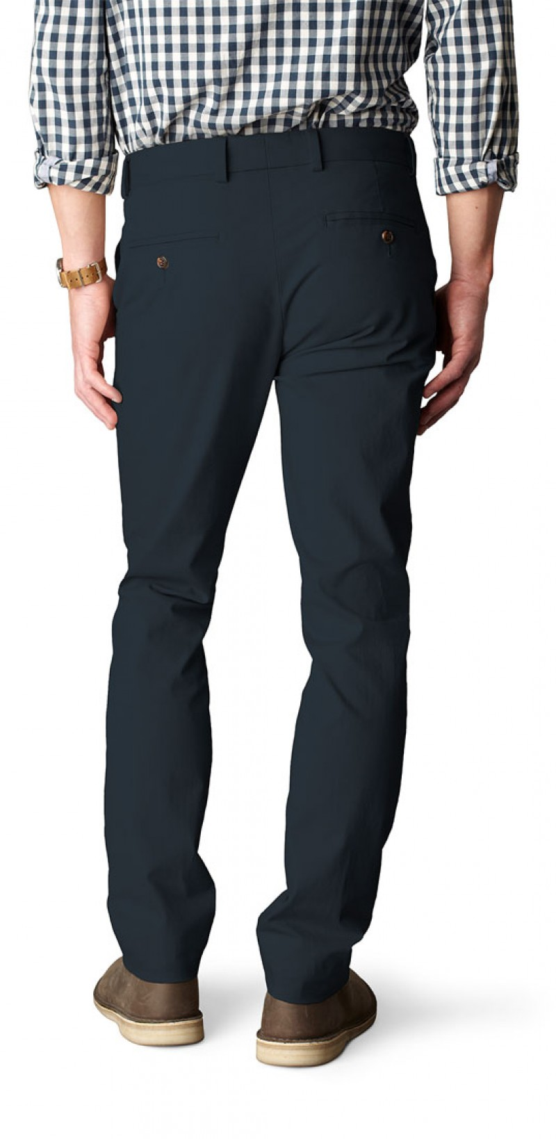 Dockers ZERO - EXTRA SLIM STRETCH - Navy