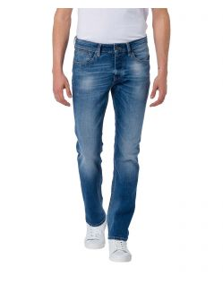 CROSS Jeans Dylan - Straight Leg - Medium Blue