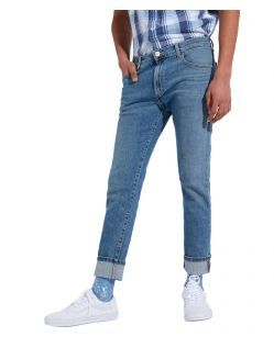 Wrangler Larston - Slim Tapered Jeans in Blue Charm