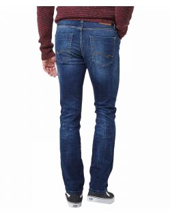 Pioneer Storm - Straight Fit Jeans in dunkelblau - Hinten