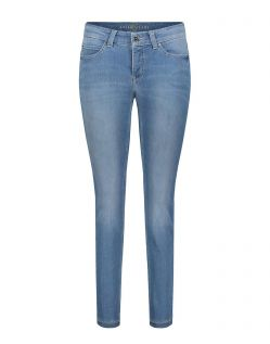 MAC DREAM SKINNY - Slim Fit Jeans - Light Blue Used