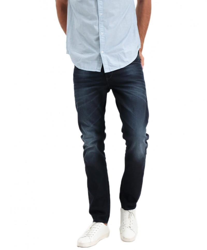 Garcia Jeans Savio - schmal geschnitten in dunkelblauer Waschung