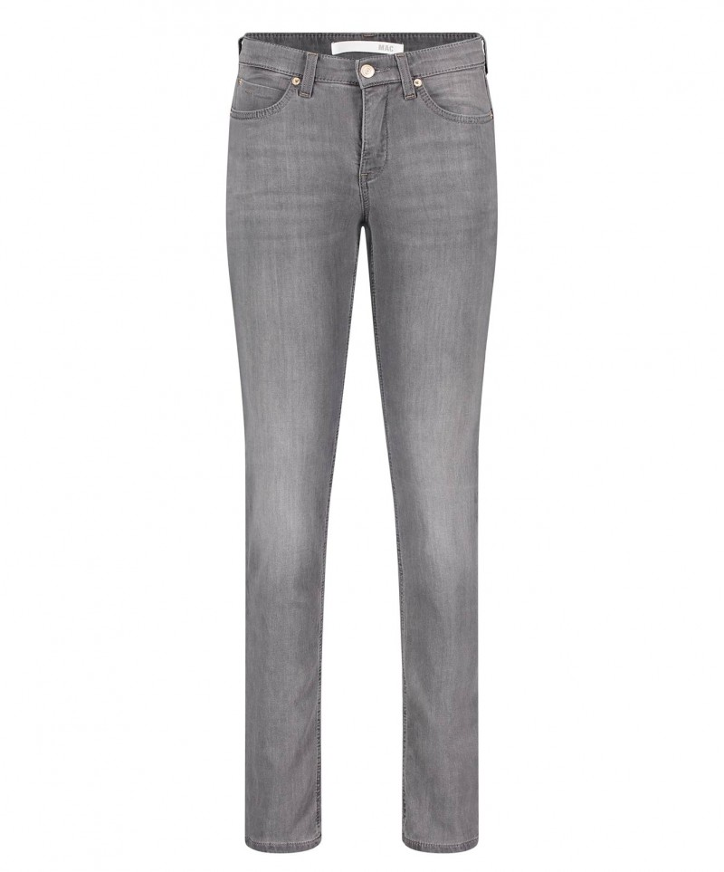 MAC Jogging Pipe Jeans - Grey Wash