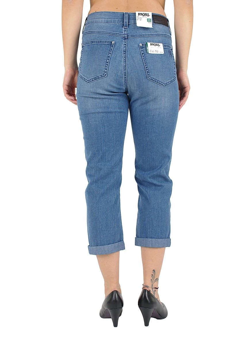 Angel Cici TU - 7/8 Jeans - Superstone Used