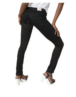 HIS MARYLIN Jeans - Slim Fit - Pure Black Wash - Hinten
