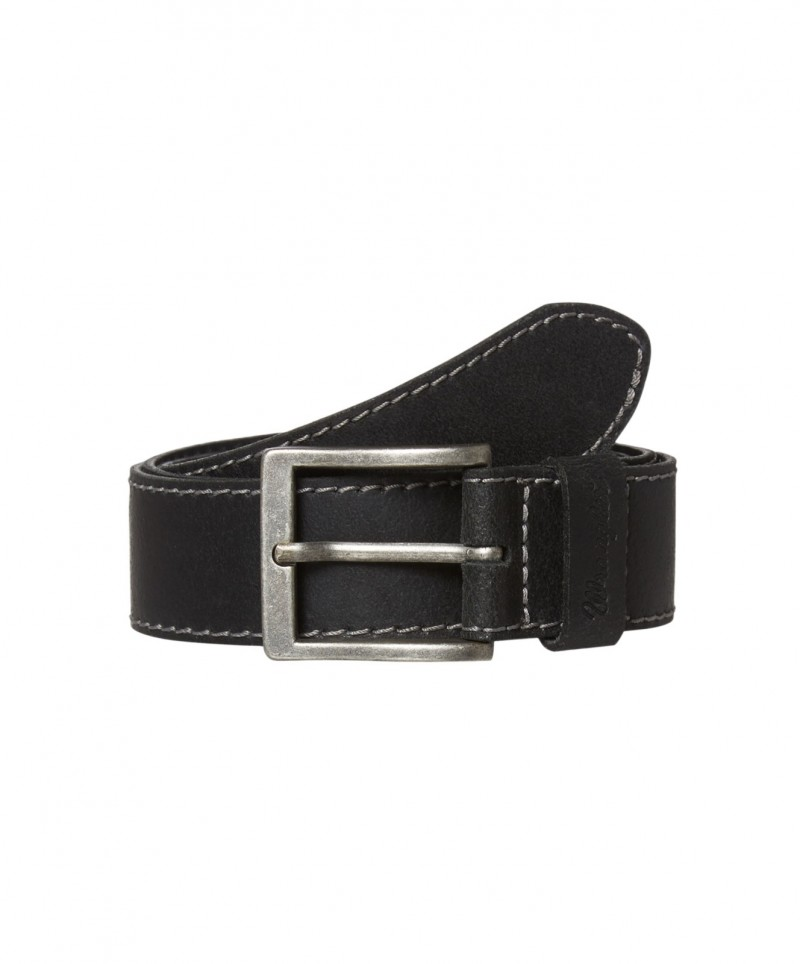 Wrangler Gürtel Basic Stitched Belt in Black