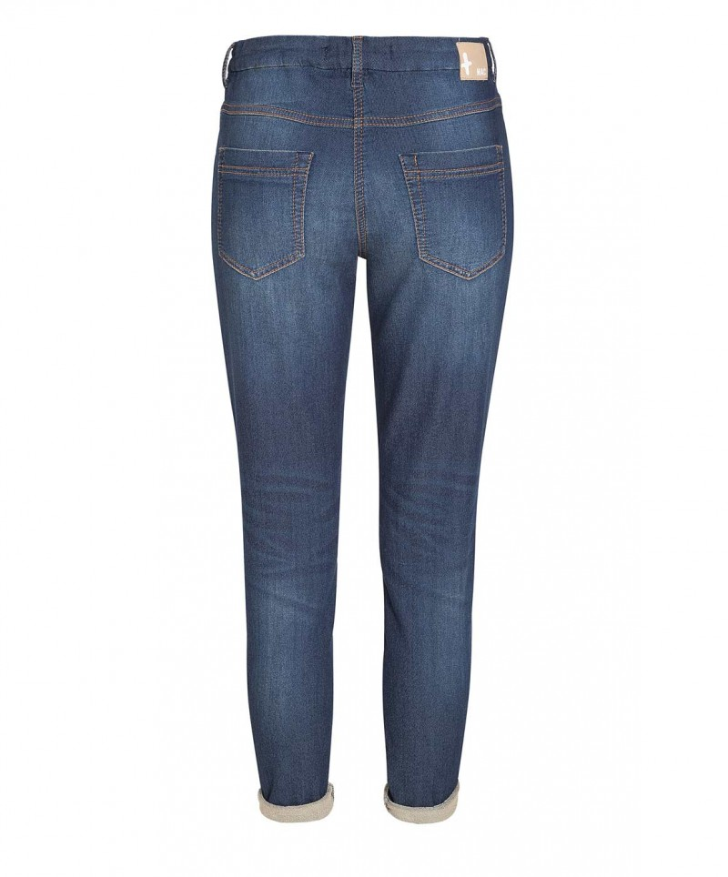 Mac Jogging Jeans - Sweat Denim - Autumn Blue Wash