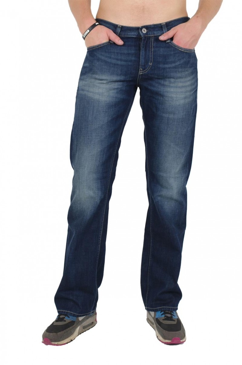 Mustang Oregon Boot Jeans - Slim Fit  - Total Brushed
