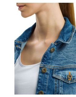 Cross Damen Jeansjacke in Blue Used - B05