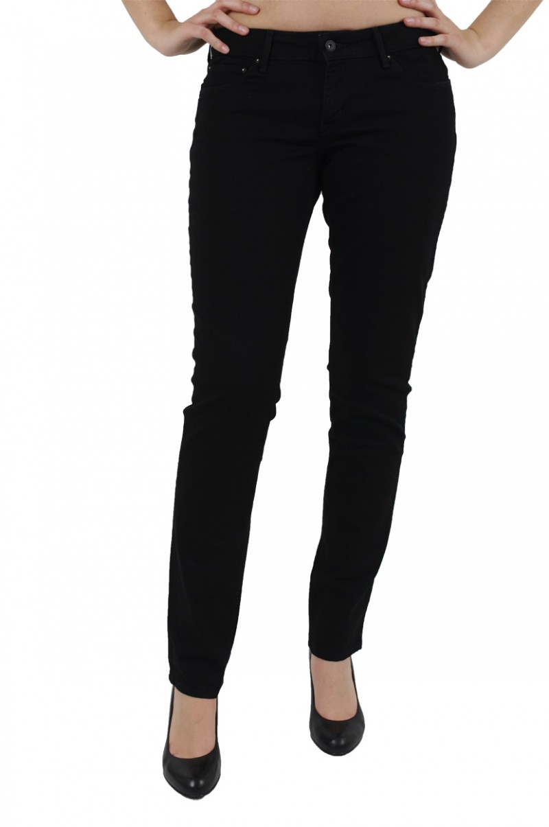Levis Bold Curve - Skinny Leg - Black Superstretch v
