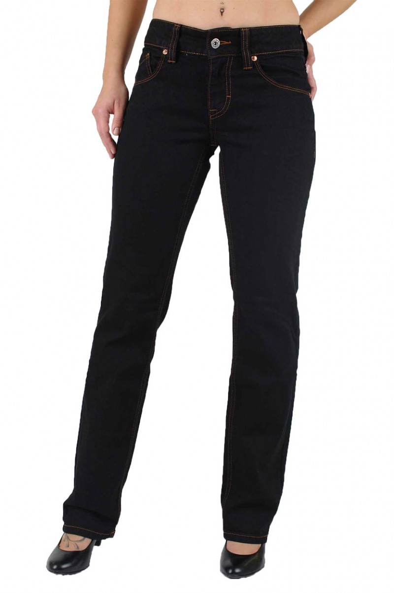 Mustang Emily Jeans in Midnight Black