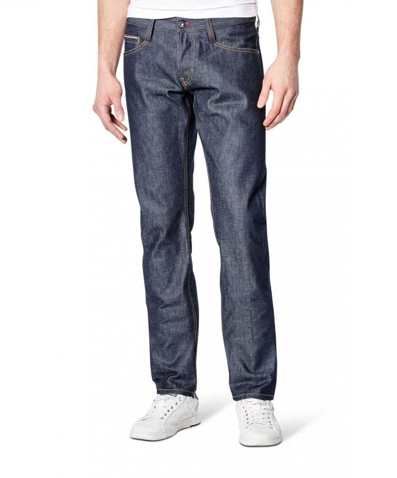 MUSTANG OREGON Taperd Jeans - Slim Fit - Dark Rinse Used