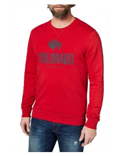 Colorado Denim Olliver – rotes Sweatshirt mit Logo - Seite