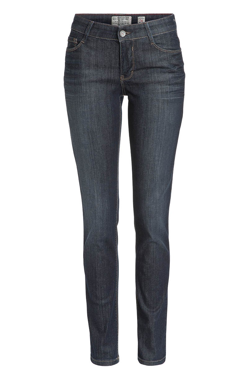 Mac Carrie Pipe Jeans dark blue used