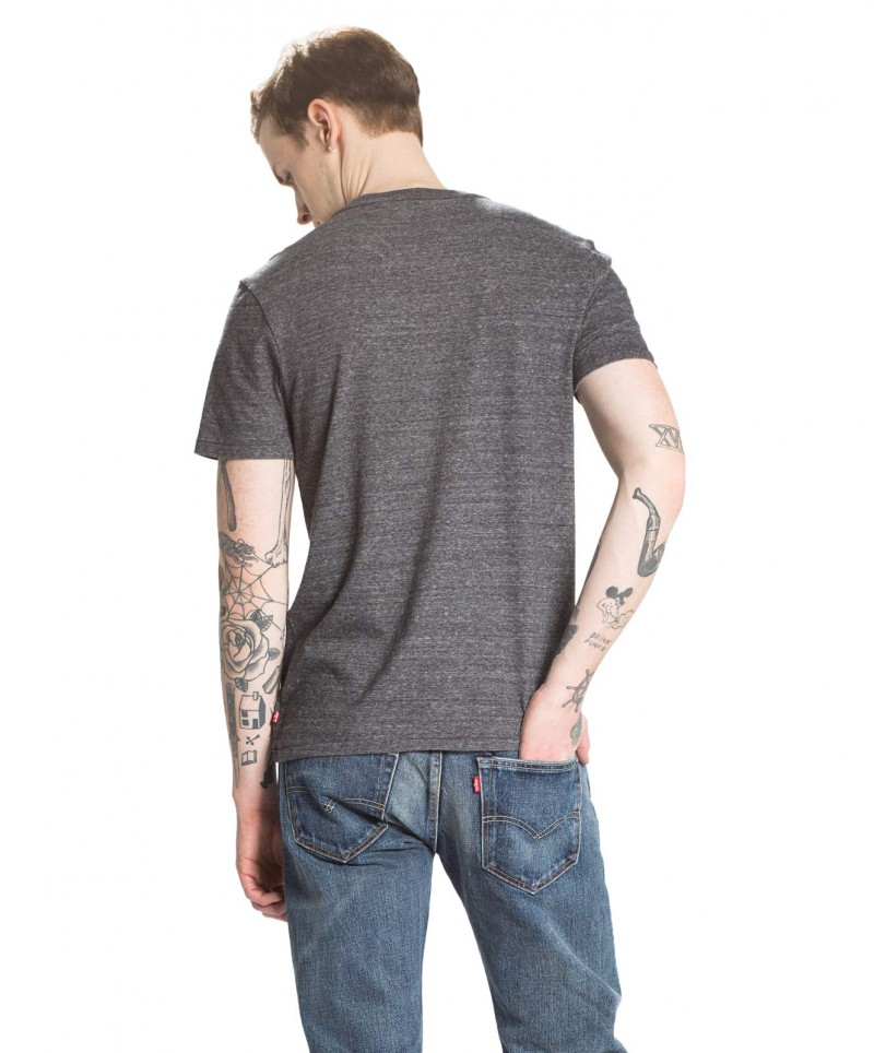 Levis T-Shirt - Sunset Pocket Tee - Saturated Indigo