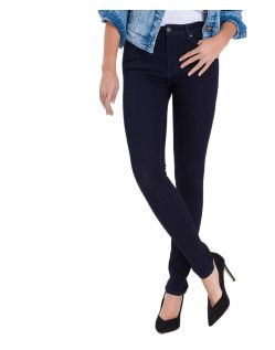 Cross Natalia - High Waisted Jeans in Indigoblau
