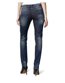 MUSTANG JASMIN Jeans - Slim Fit - Dark Used - Hinten