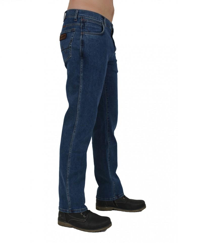 Wrangler Texas Jeans - Stretch Denim - Resistant Stone