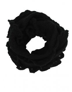 VERO MODA Loop - Call Knit - Black