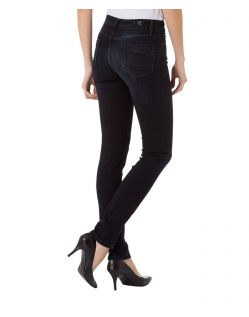 CROSS Anya - High Waisted Jeans - Blue Black - Seite
