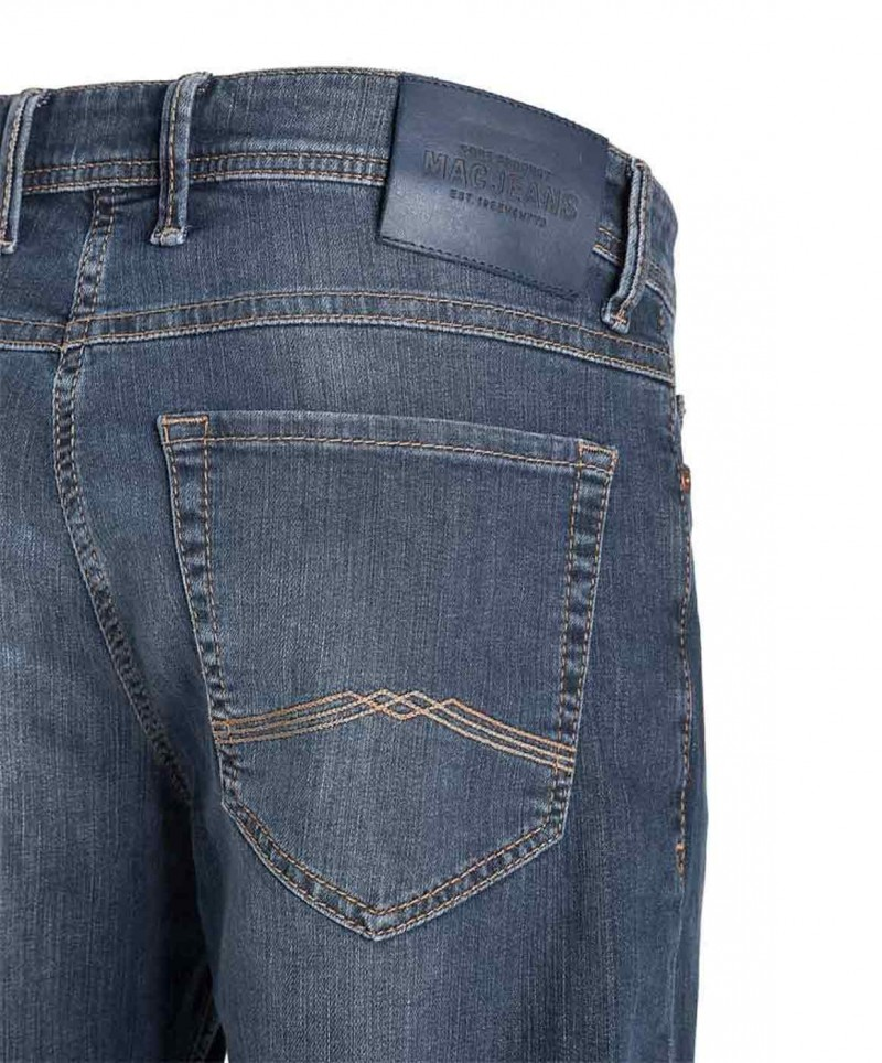 Mac Ben Jeans - Regular Fit - Dark Blue Used