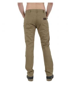 WRANGLER ARIZONA Stretch - Safari Khaki Wash - Hinten
