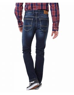 Pioneer Rando - Regular Fit Jeans in Stone Used - Hinten