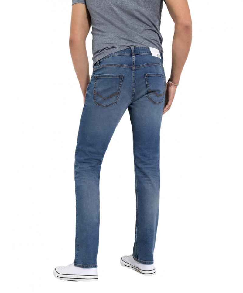 HIS STANTON Jeans - gerades Bein - Dusty Grey