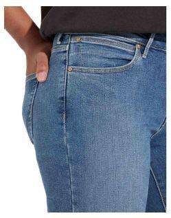 Wrangler Slim Jeans mit Body Bespoke in hellblau f04
