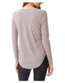 VERO MODA LUA - Langärmeliges Oberteil  - Light Grey Melange - Back