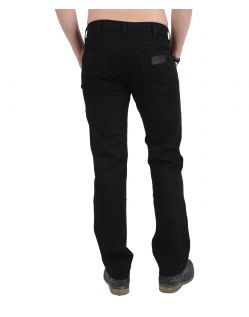 WRANGLER ARIZONA Stretch - Black Rinsewash - Hinten