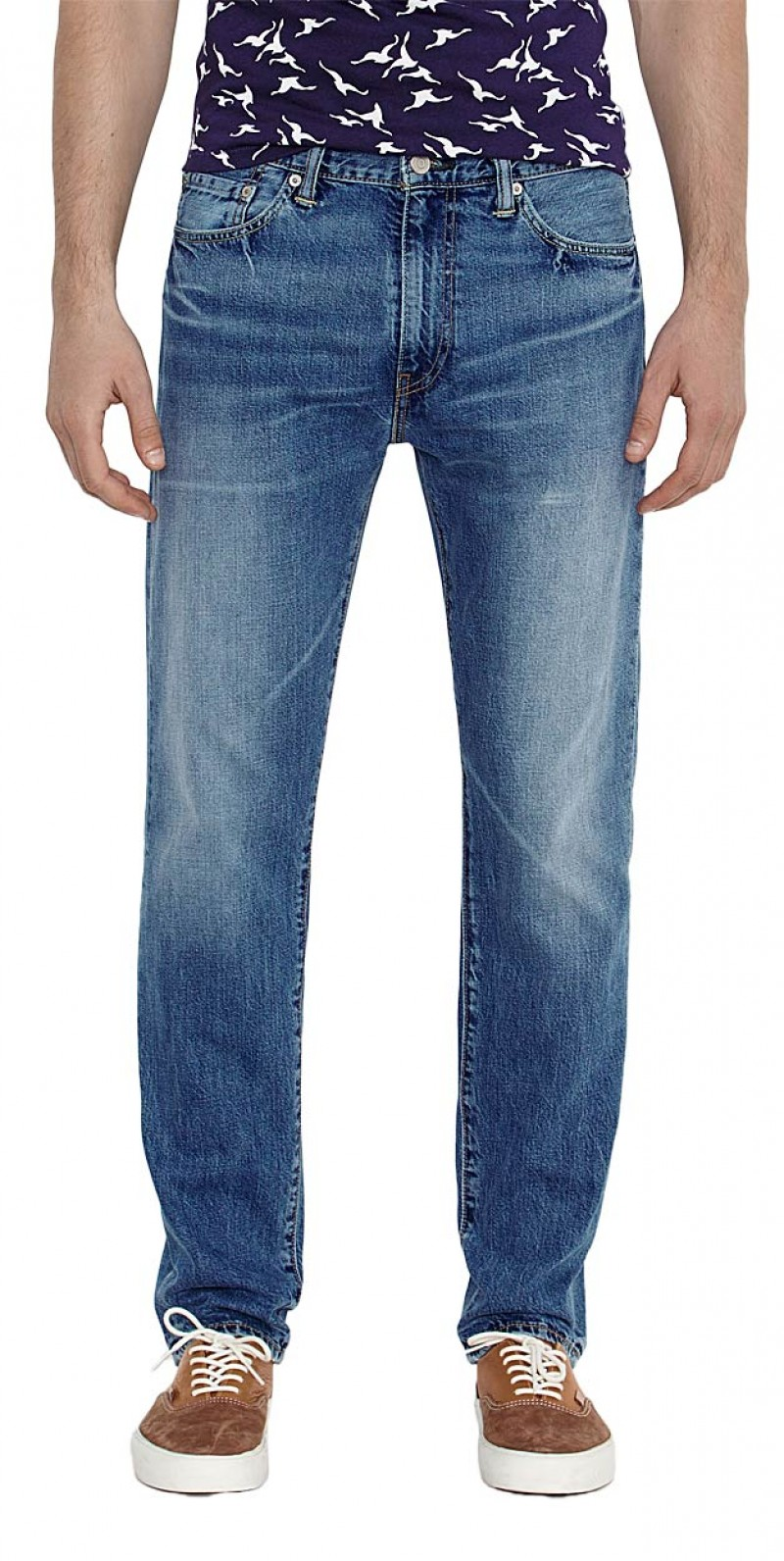 Levis 508 Jeans- Regular Tarped - Marin