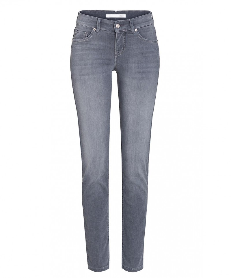 MAC Jogging Pipe Jeans - Grey Wash